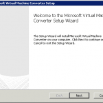 Как установить Virtual Machine Converter 3.1