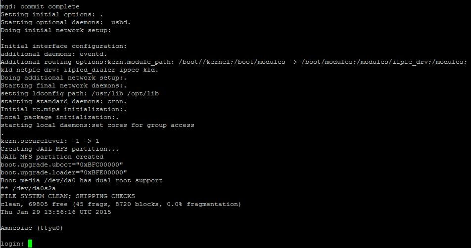Как обновить прошивку (firmware) в Juniper SRX-4 часть. С помощью tftp сервера-08