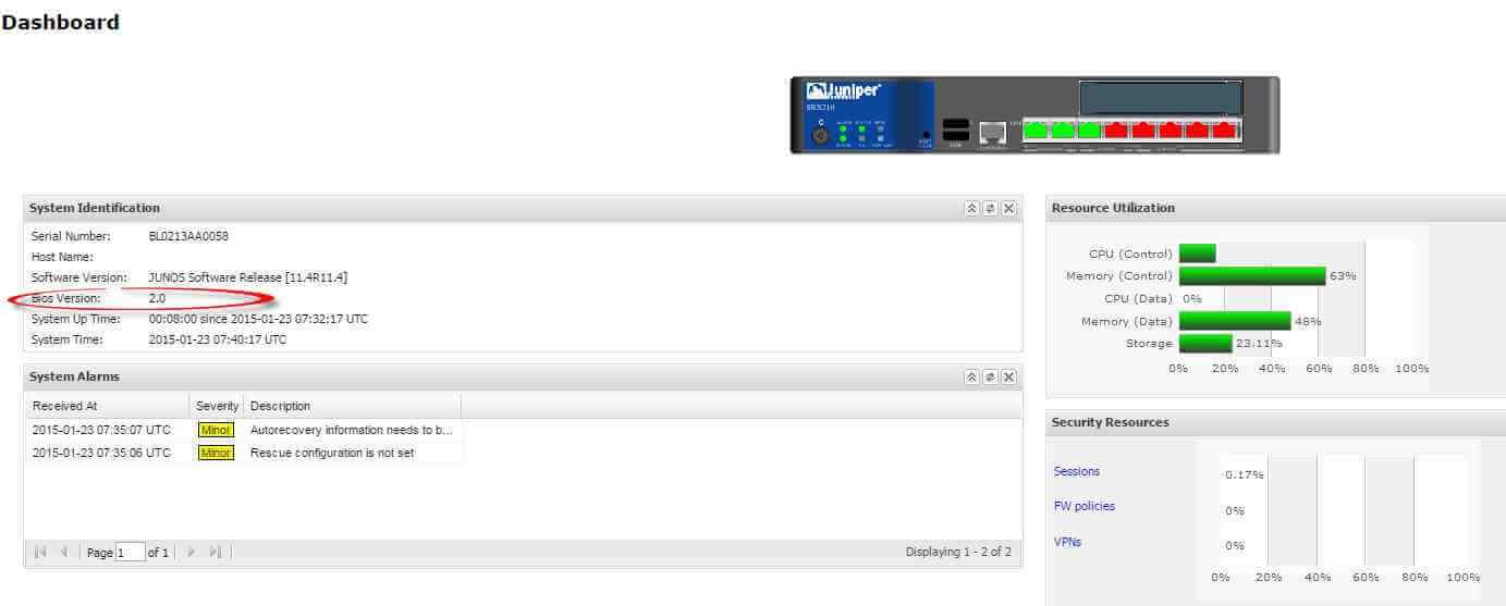 Как обновить прошивку (firmware) в Juniper SRX через web интерфейс-12