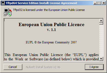 Как установить tftp сервер на примере tftpd64 service