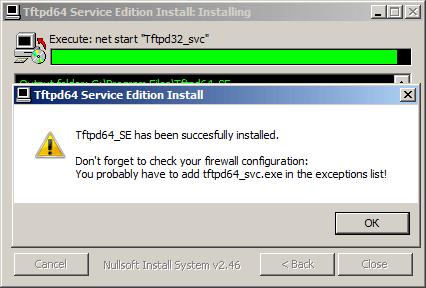 Как установить tftp сервер на примере tftpd64 service edition-06