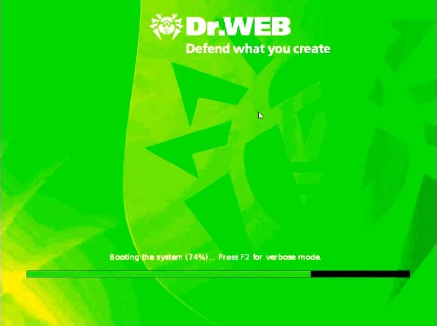 Как удалить вирусы помощью Doctor Web Live CD-03