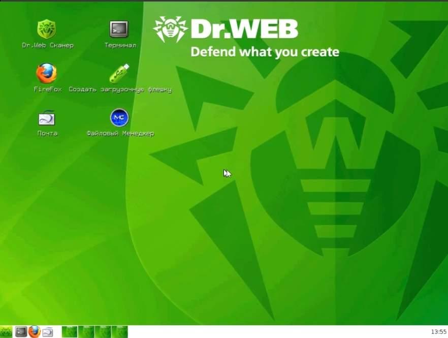 Как удалить вирусы помощью Doctor Web Live CD-04