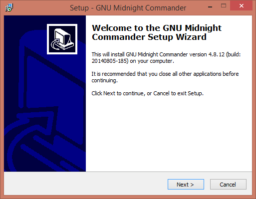 Как установить Midnight Commander в Windows-01