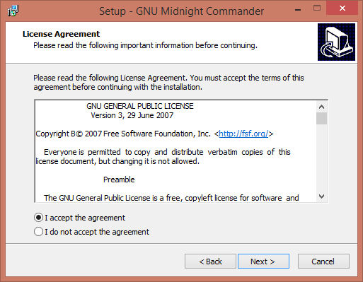 Как установить Midnight Commander в Windows-02