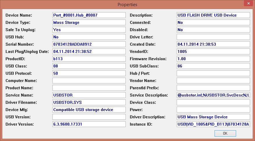 Как узнать какие usb накопители подключались к компьютеру-06