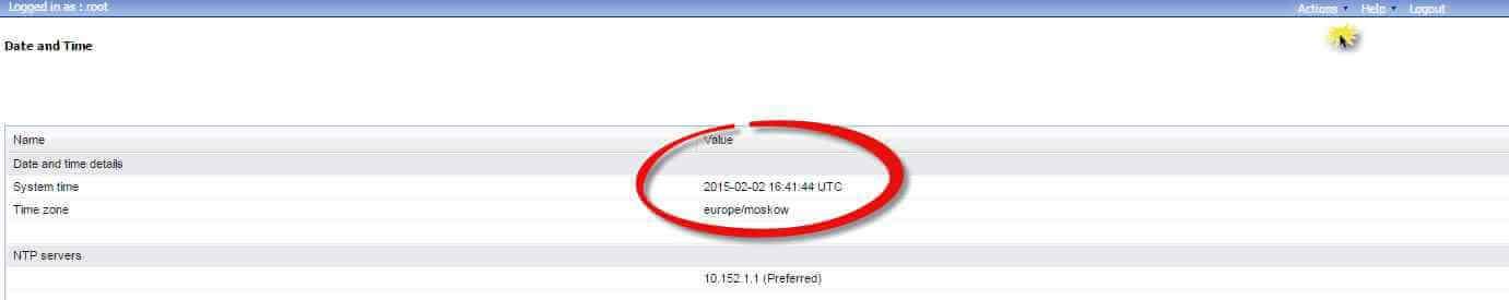 Как в Juniper SRX настроить время через веб интерфейс-03