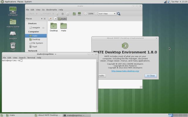 Как в Ubuntu сменить оболочку (стиль рабочего стола) — 6 часть-Установка MATE