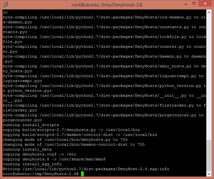 Ограничить число попыток входа через терминал в Debian, Ubuntu-04