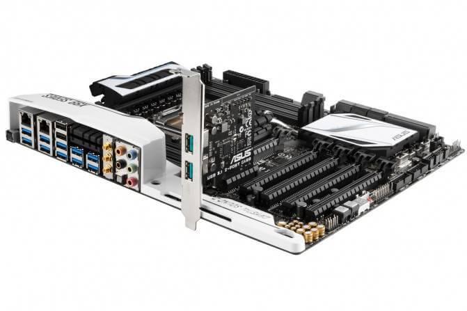 USB 3.1 представила компания ASUS в новой материнской плате-04