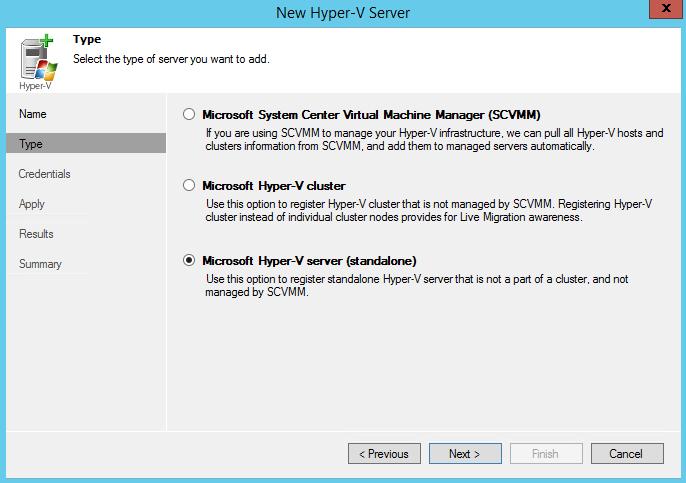 Veeam Backup & Replication 7 1 часть. Добавление сервера виртуальной инфраструктуры Hyper-V-03