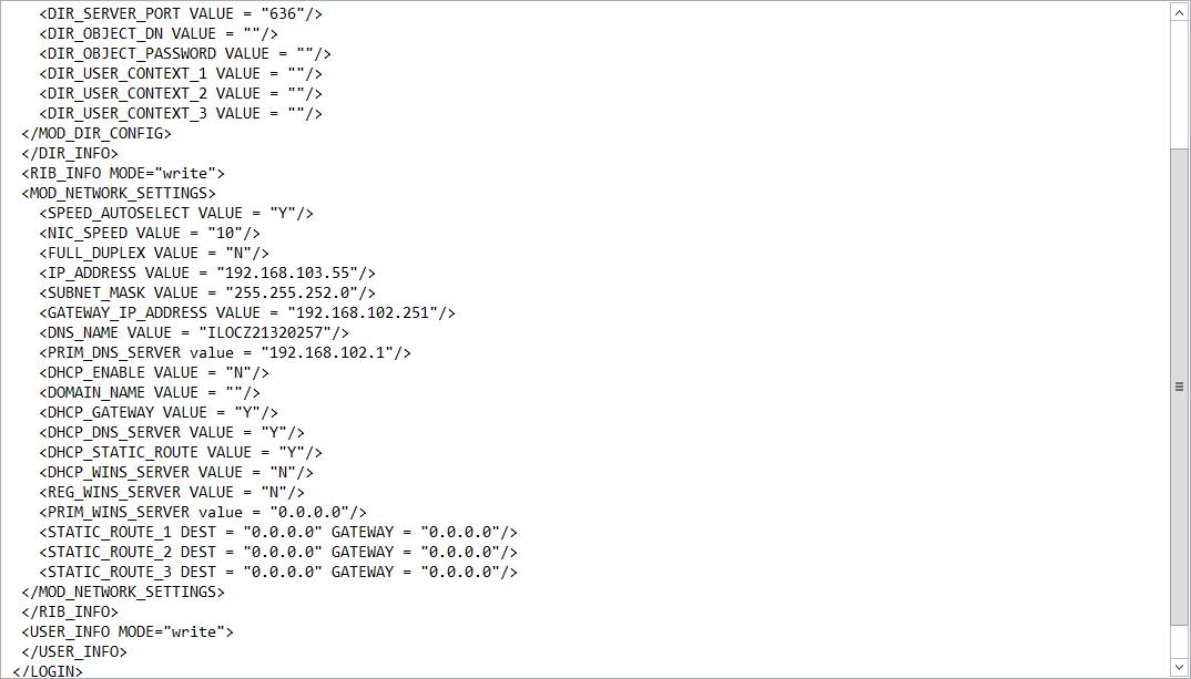 Как настроить ILO порт на HP dl380 g7 через ESXI 5.5-05