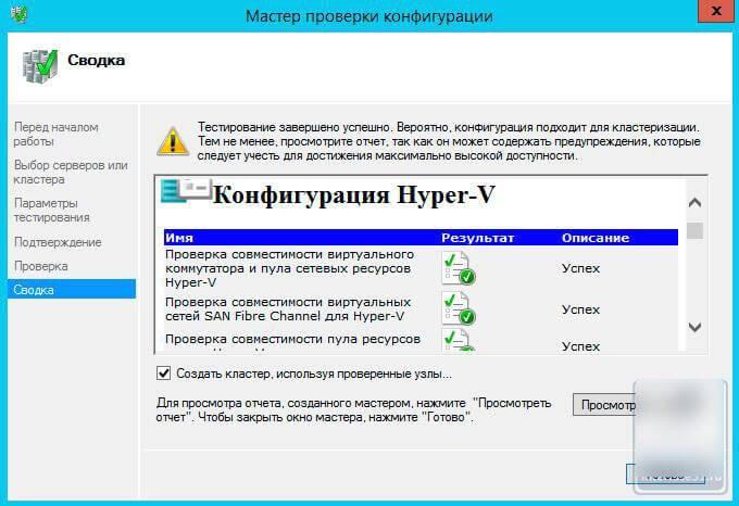 Как настроить отказоустойчивый кластер Hyper-V в Windows Server 2012 R2-13