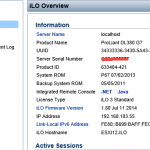 Как обновить прошивку ILO 3 в HP dl380 g7 в ESXI 5.5 через Web интерфейс