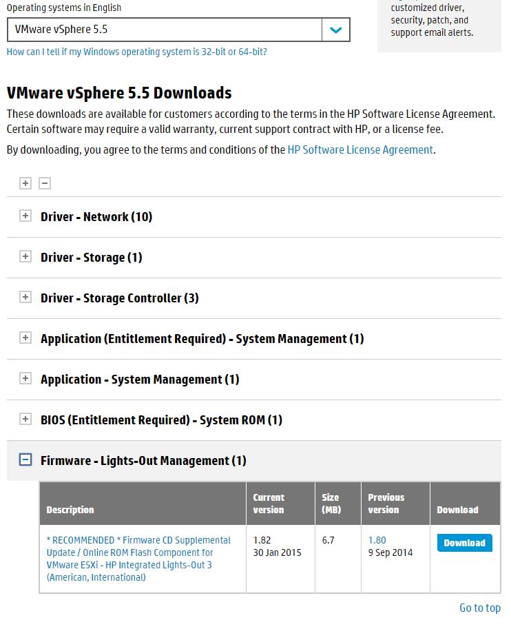Как обновить  ILO 3 в HP dl380 g7 через Web интерфейс-02-2