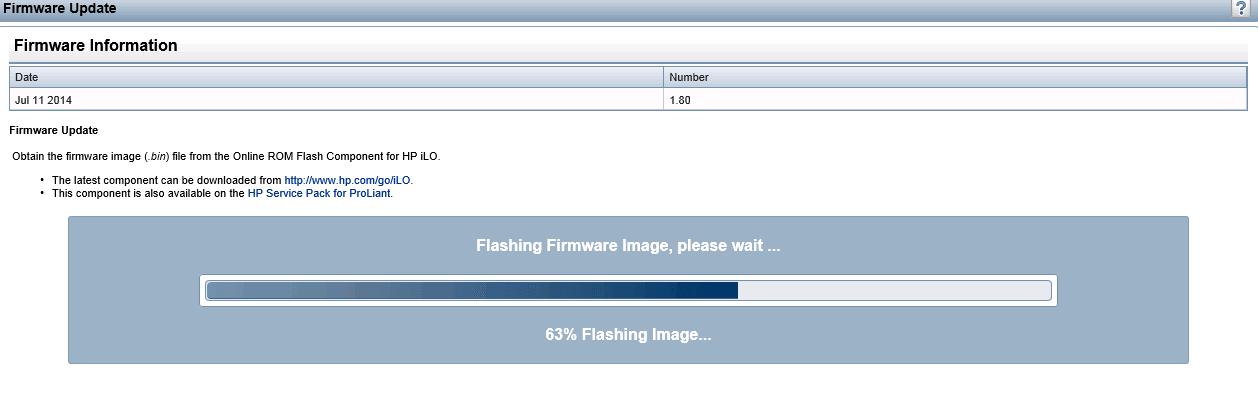 Как обновить  ILO 3 в HP dl380 g7 через Web интерфейс-14