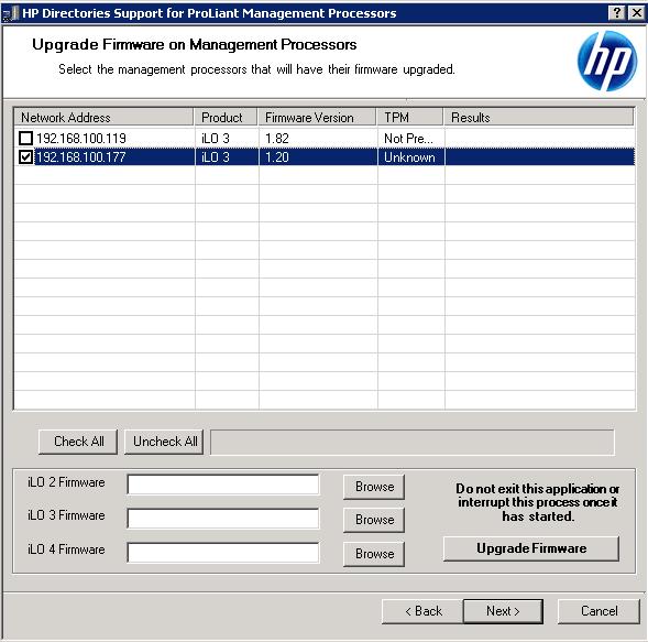 Как обновить прошивку ILO 3 в HP dl380 g7 в ESXI 5.5 через HP Lights-Out Online Configuration Utility-03