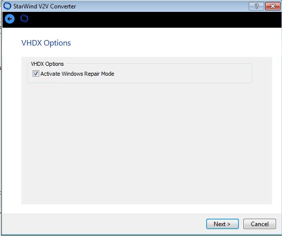Как сконвертировать vmdx в vhdx с помощью StarWind V2V Converter V8-04