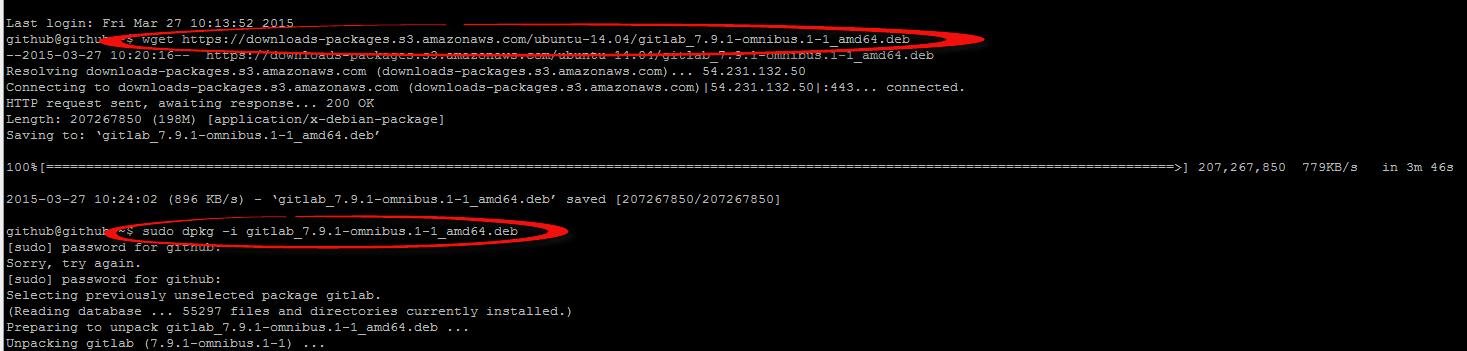 Как установить Gitlab в Ubuntu 14-02