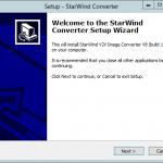 Как установить StarWind V2V Converter V8