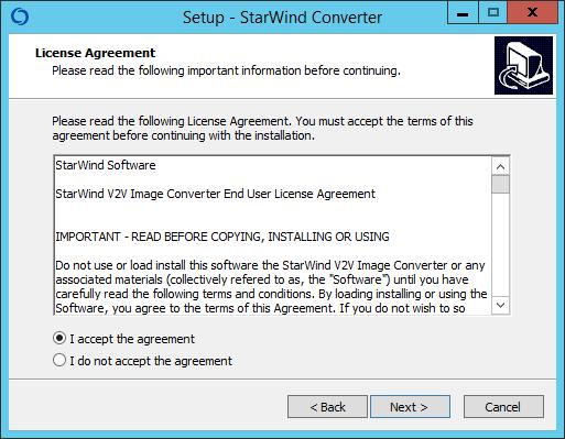 Как установить StarWind V2V Converter V8-02