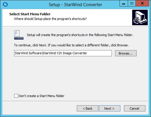 Как установить StarWind V2V Converter V8-04