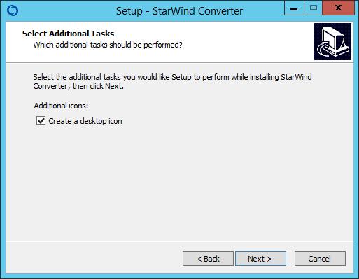 Как установить StarWind V2V Converter V8-05