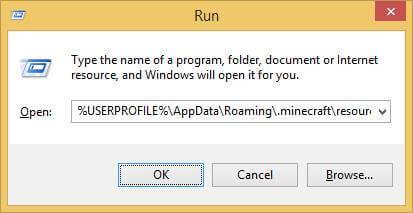Как установить пакета ресурсов для Minecraft в Windows-06