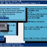 Как включить поддержку виртуализации на сервере HP ProLiant G7