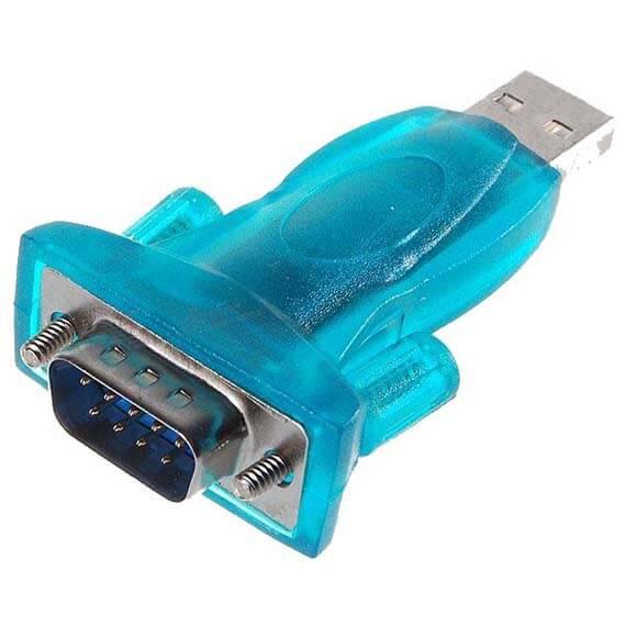Настройки COM-порта для подключения Cisco