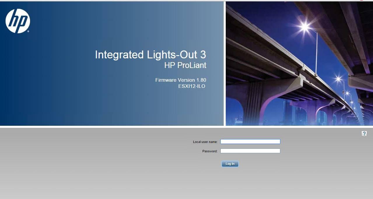 Обзор параметров ILO 3 в HP dl380 g7-01