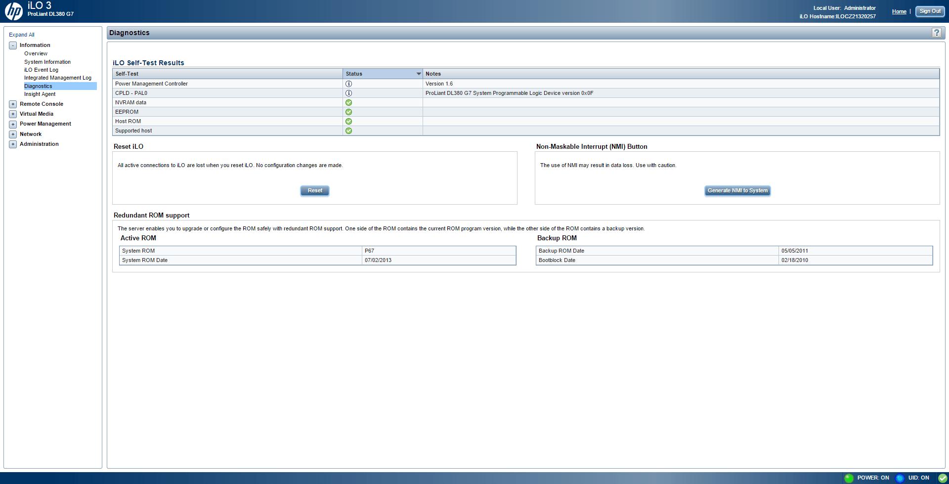 Обзор параметров ILO 3 в HP dl380 g7-12