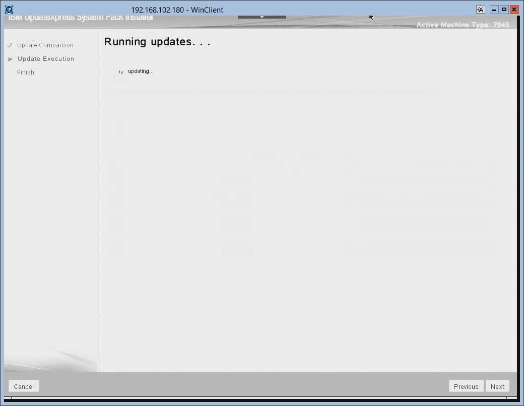 Загрузка с диска автоматического обновления прошивок в IBM серверах.-15