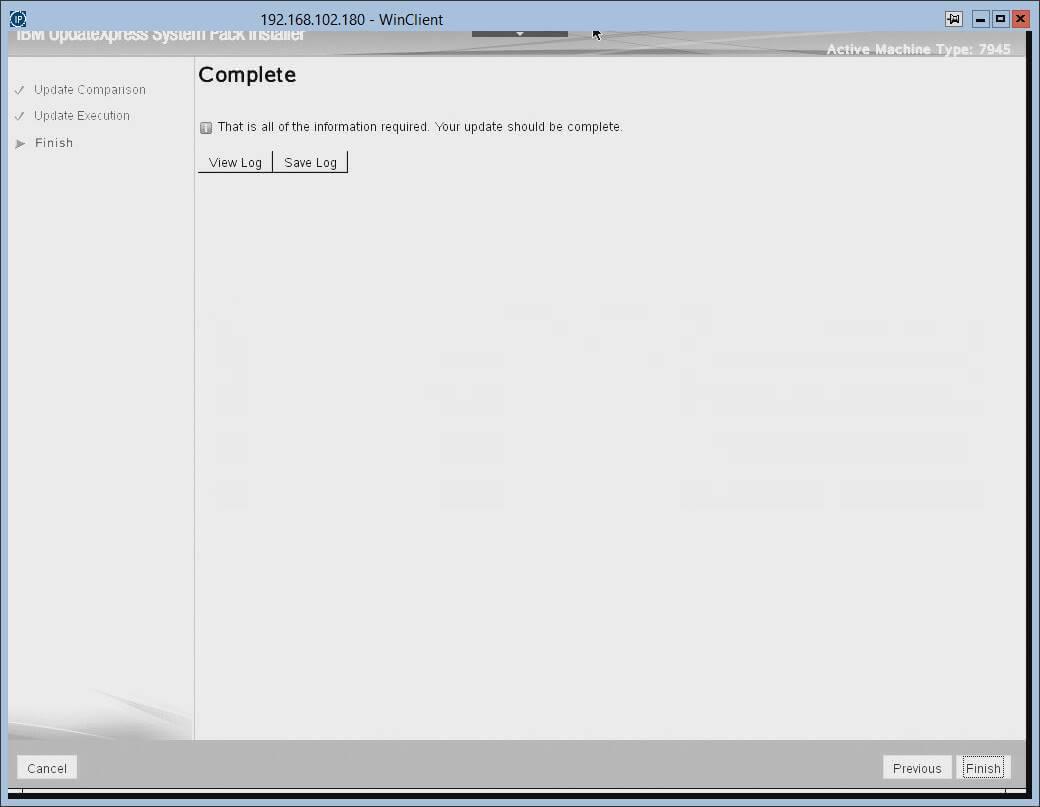 Загрузка с диска автоматического обновления прошивок в IBM серверах.-17