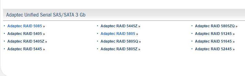 Где скачать драйвера, утилиты и прошивки для Adaptec контроллеров-02