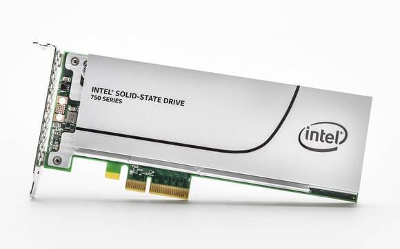 Intel выпустила твердотельные накопители SSD 750-02