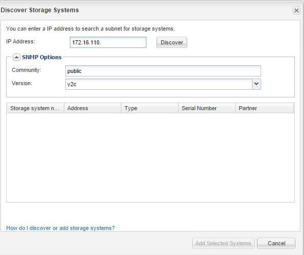 Как добавить контроллеры в NetApp OnCommand System Manager-02