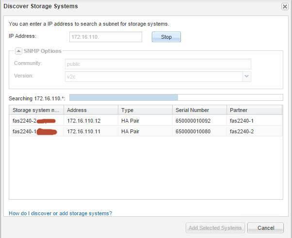 Как добавить контроллеры в NetApp OnCommand System Manager-03