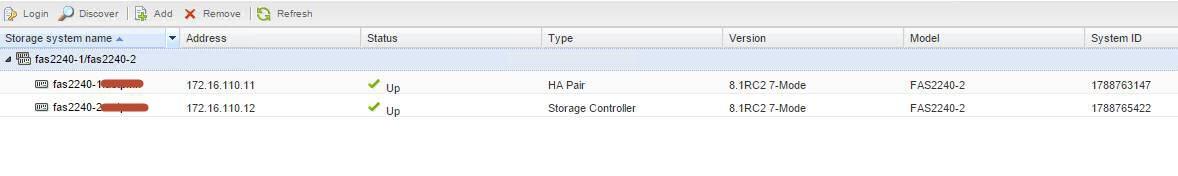 Как добавить контроллеры в NetApp OnCommand System Manager-10