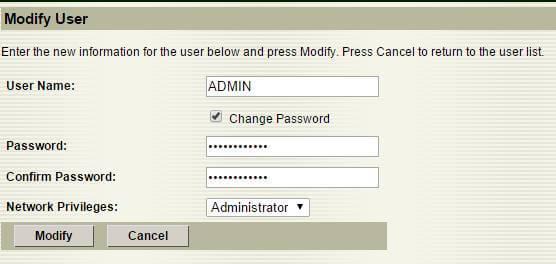 Как изменить пароль учетной записи на Supermicro через web интерфейс-02