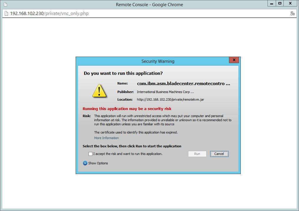 Как обновить все прошивки на IBM Blade HS22-03