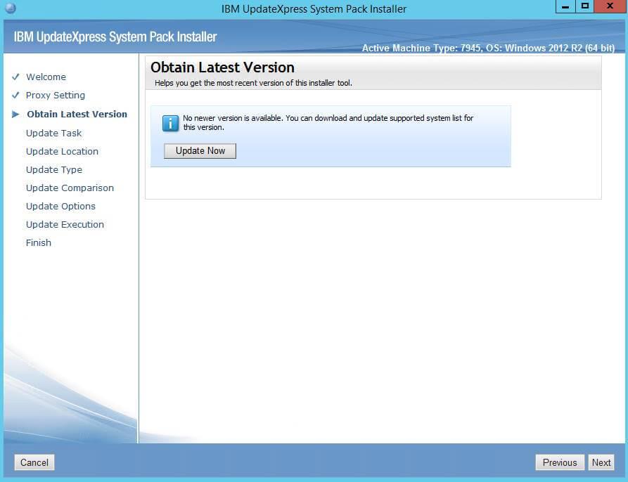 Как обновить все прошивки на IBM сервере в Windows-03