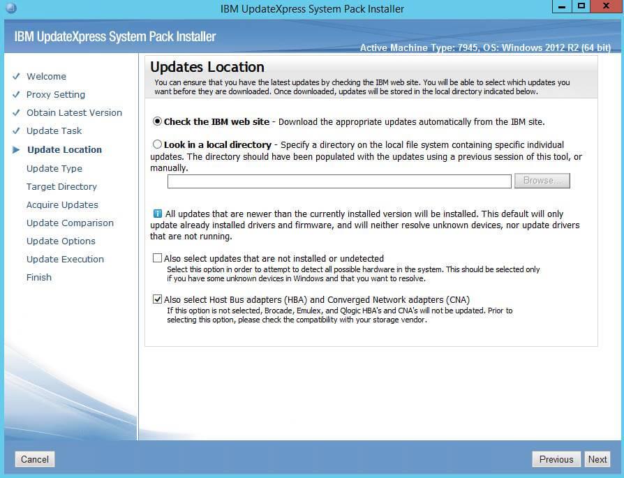 Как обновить все прошивки на IBM сервере в Windows-06