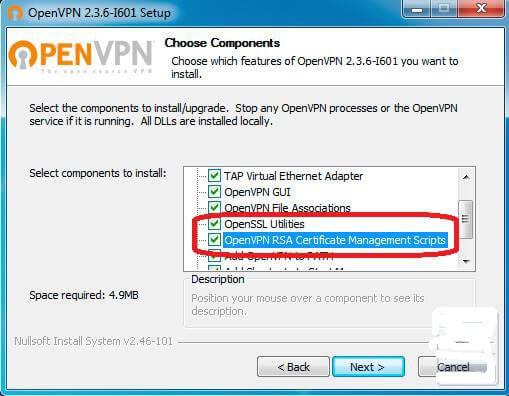 Установка OpenVPN 2.3.8