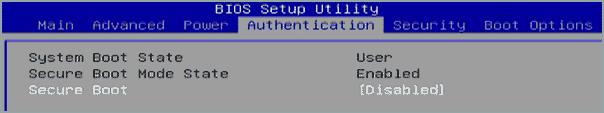 Как отключить Secure Boot-03