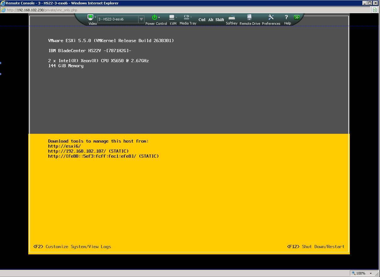Как примонтировать DVD или ISO в AMM IBM Blade Center-04