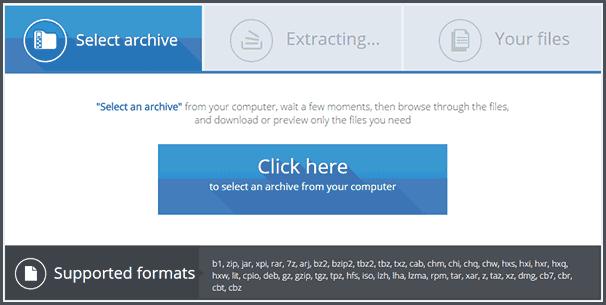 Как распаковать архив онлайн-01