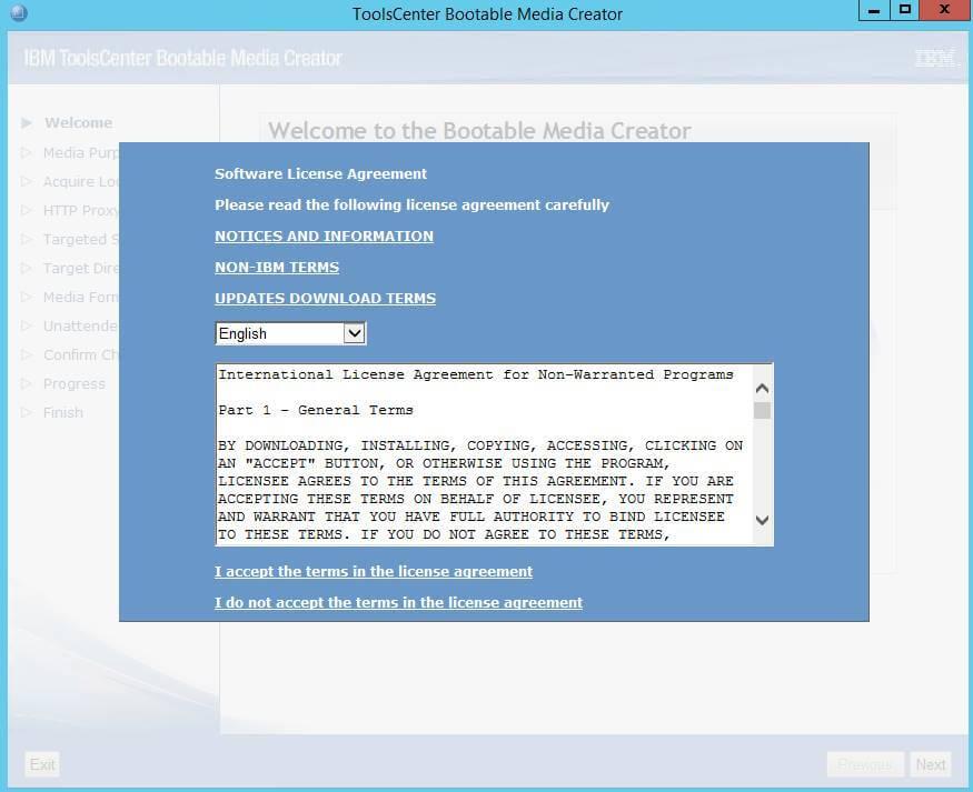 Как создать диск обновления драйверов для IBM сервера из локального репозитория-01