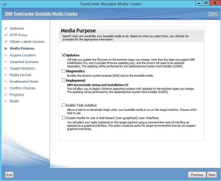 Как создать диск обновления драйверов для IBM сервера из локального репозитория-05