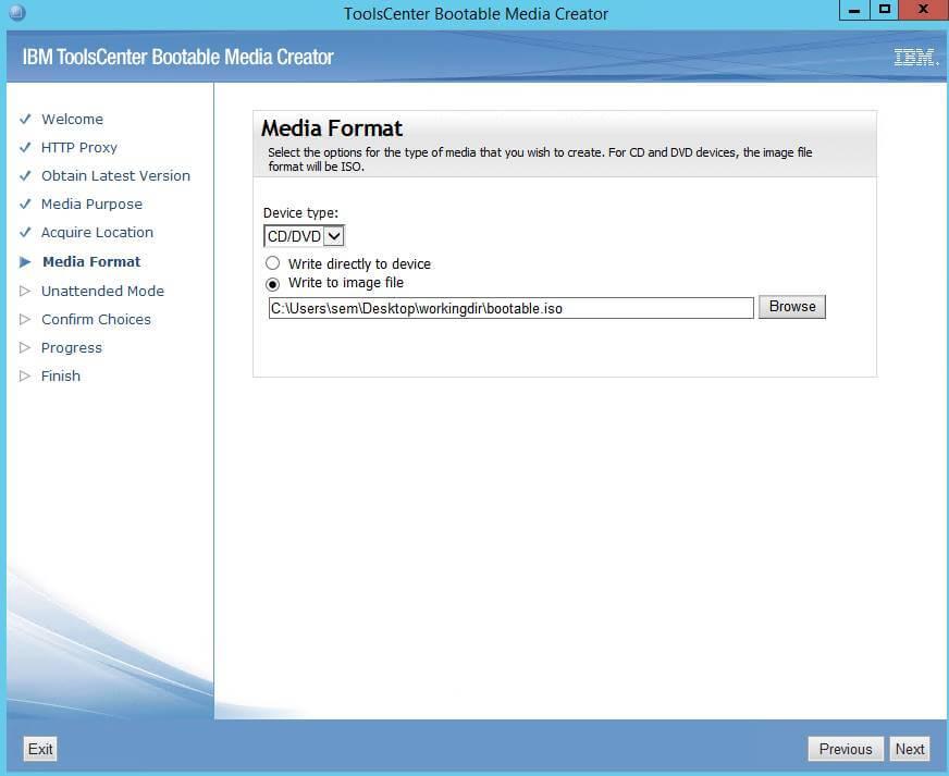 Как создать диск обновления драйверов для IBM сервера из локального репозитория-07